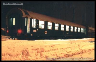 A 150, 50 54 19-10 086-8, Vsetín, 19.01.2002, foto Petrskovský, scan