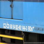 BDs 450, 50 54 82-40 144-3, DKV Plzeň, Plzeň hl.n., 03.09.2014
