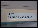 A 149, 51 54 19-41 064-9, DKV Olomouc, špatně označeno indexem A272, Praha hl.n., 10.7.2014