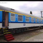 A149, 51 54 19-41 055 -7, DKV Praha, Czech Rail Days, 2009, pohled na vůz