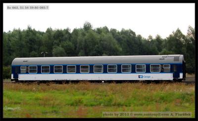 Bc 663, 51 54 59-80 085-7, ČDC, Olomouc filiálka, 25.08.2013