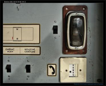 Bdmtee 263, 50 54 20-82 191-8, DKV Brno, pomocný rozvaděč II, 22.9.2012