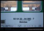 Bdmtee 275, 50 54 22-44 085-7, DKV Brno, 10.06.2013, Rájec-Jestřebí, označení vozu