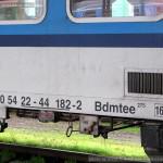 Bdmtee 275, 50 54 22-44 182-2, DKV Plzeň, Plzeň hl.n., 6.11.2014, označení