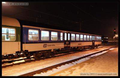 Bdmtee 281, 50 54 22-44 235-8, DKV Čes. Třebová, 03.02.2012