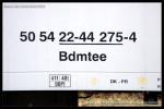 Bdmtee, 50 54 22-44 275-4, DKV Brno, Přerov, 27.05.2009, označení vozu