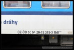 Bdt 262, 50 54 20-19 319-3, DKV Olomouc, Olomouc hl.n., 27.02.2013, označení