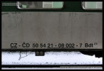 Bdt 279, 50 54 21-08 002-7, DKV Praha, Ústí nad Labem hl.n., 14.01.2013