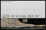 Bdt 279, 50 54 21-08 138-9, DKV Plzeň, Plzeň hl.n., 09.04.2013