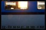 Bdt 280, 50 54 21-08 369-0, DKV Olomouc, Bohumín, 07.11.2012