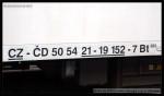 Bt 278, 50 54 21-19 152-7, DKV Olomouc, 15.03.2009, chybný index