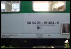 Bt 278, 50 54 21-19 464-6, DKV Plzeň, označení, Plzeň hl.n., 10.09.2012
