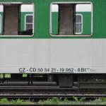 Bt 283, 50 54 21-19 062-8, DKV Olomouc, Bohumín, 11.6.2013