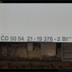 Bt 283, 50 54 21-19 376-2, DKV Čes. Třebová, označení, Pardubice hl.n., 10.11.2012