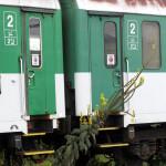Bt 283, 50 54 21-19 518-9 a Bt 278, 143-4, odstaven, deponovaný v Klatovech, 03.09.2014