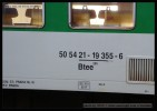 Btee 285, 50 54 21-19 355-6, DKV Praha, označení, Praha hl.n., R 962 , 21.04.2012