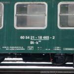 Btk 662, 60 54 21-18 465-2, DHV Lužná u Rakovníka, označení, Pradubice hl.n., 15.12.2012