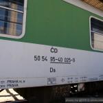 Ds 952, 50 54 95-40 025-9, DKV Praha, Praha Libeň, 04.7.2014, označení