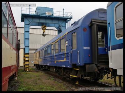 WLABee 824, 52 54 70-40 138-7, na zrušení, Česká Třebová, 21.9.2013, pohled na vůz