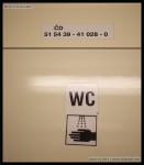 AB 349, 51 54 39-41 028-0, DKV Plzeň, 21.02.2013, označení ve voze, R 661 Plzeň-Brno