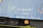 Postw, 50 54 90-40 291-2, Ateco Bubny, 10.2012, oznčení na voze