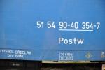 Postw, 50 54 90-40 354-7, Ateco Bubny, 10.2012, označení na voze