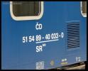 SR 809, 51 54 89-40 033-0, DKV Praha, Pardubice hl.n., 01.07.2014, označení
