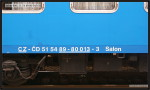 Salon 800, 51 54 89-80 013-3, DKV Praha, 23.11.2010, Brno Hl.n., nápisy na voze I