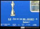 Salon 803, 51 54 89-40 021-5, DKV Praha, Šachový vlak 2013, Praha hl.n., 11.10.2013