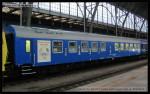 Salon 803, 51 54 89-40 021-5, DKV Praha, Šachový vlak 2013, Praha hl.n., 11.10.2013, pohled na vůz