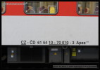 Apee 139, 61 54 10-70 010-3, DKV Olomouc, Praha hl.n., 09.12.2013