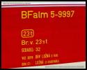 BDdtx 764, 50 54 82-29 001-0, pův. BFalm 5-9997, Lysá nad Labem, 12.10.2013, původní označení