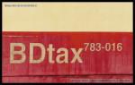 BDtax 783, 50 54 93-29 601-4, Rakovník, 31.08.2013, označení