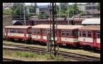 Btx 763, 50 54 28-29 044-7, DKV Plzeň, společně s Btax 785, 50 54 24-29 526-7, depo Čes.Budějovice, 27.06.2012