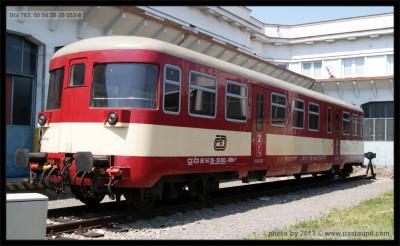 Btx 763, 50 54 28-29 053-8, DKV Brno, Břeclav, 21.05.2011
