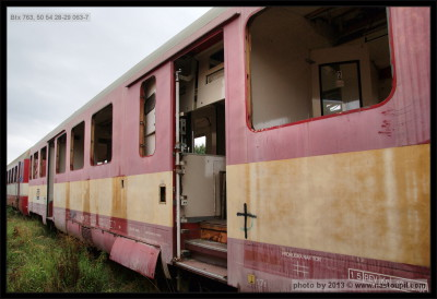 Btx 763, 50 54 28-29 063-7, 22.09.2012, Čes. Třebová, pohled na vůz