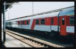 WRm 813, 51 54 88-81 004-2, DKV Praha,  Olomouc hl.n., 09.04.2003, pohled na vůz, scan starší fotografie