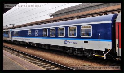 WRmee 816, 61 54 88-81 005-7, DKV Olomouc, Praha hl.n., 21.11.2012