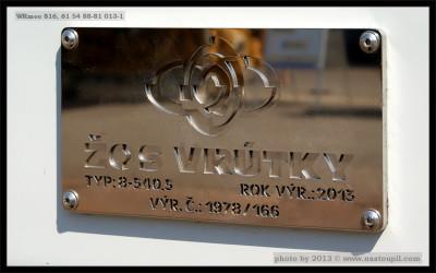 WRmee 816, 61 54 88-81 013-1, DKV Praha, Ostrava CRD, 18.06.2013, výr. štítel rekonstrukce, podélník