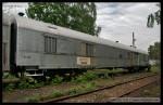60 54 89-29 044-1, preventivní vlak, Areál Ateco Bubny, 09.05.2013, pohled na vůz