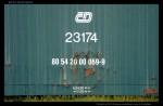 80 54 20-00 069-9, ex DPost, Přerov, 27.05.2009, nápisy na voze