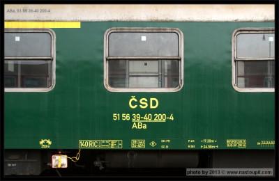 ABa, 51 56 39-40 200-4 - Prievidza,  20.04.2013, označení na voze