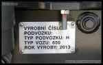 94 54 1 650 003-7, CRD 2013, 18.06.2013, číslo podvozku