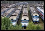 94 54 451 004-6, 451 015-2, DKV Praha, Praha ONJ vjezd.skupina, 13.09.2012, pohled z výšky