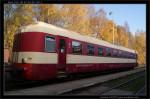 Bmx 765, 50 54 20-29 130-2, DKV Olomouc, 30.10.2011, Jeseník, pohled na vůz