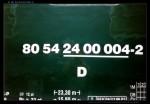 D 80 54 24-00 004, Pardubice hl.n. - výstava Historie jízdenek