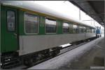 01 AB 349, 51 54 39-41 040-5, DKV Brno, R 803 Brno-Olomouc, 18.12.2010, pohled na vůz