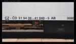 05 AB 349, 51 54 39-41 040-5, DKV Brno, 02.06.2009, nápisy na voze