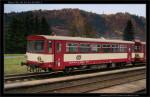 Btax 780, 50 54 24-29 096-1, DKV Olomouc, 30.10.2011, Hanušovice, pohled na vùz