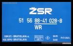 WR, 51 56 88-41 028-8, Bratislava hl.st., 07.12.2012, označení na voze